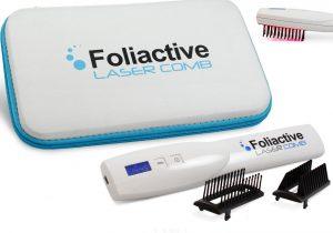 Foliactive laser comb repousse cheveux