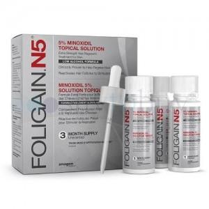 Folgain N5 minoxidil 5% traitement calvitie