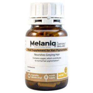 melaniq complement alimentaire cheveux gris