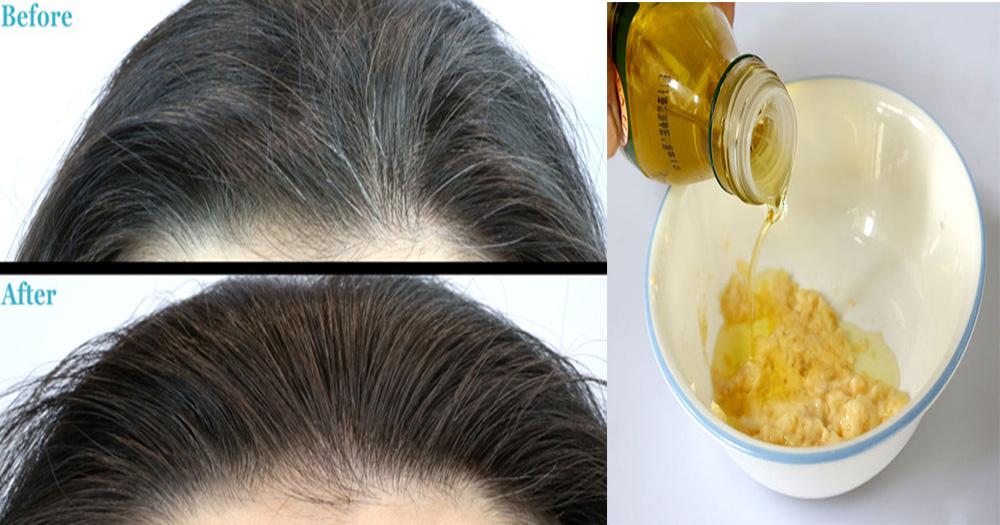 traitement maison cheveux gris